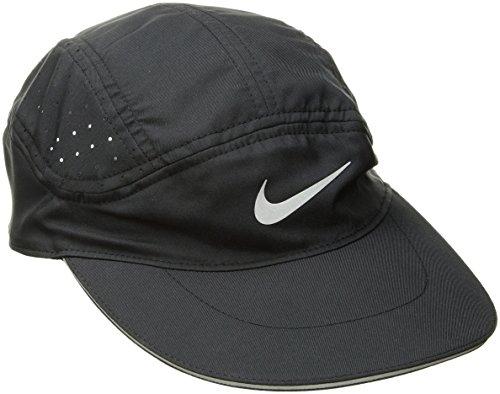 Nike AeroBill Laufkappe, schwarz, One Size