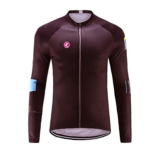 Uglyfrog Slj47 - Camiseta de ciclismo para hombre, manga larga, primavera, otoño, Hombre, color Couleur 25, tamaño Taille X-Large