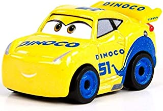 Disney Pixar Cars Metal Mini Racers - Dinoco Cruz Ramirez - FMV85