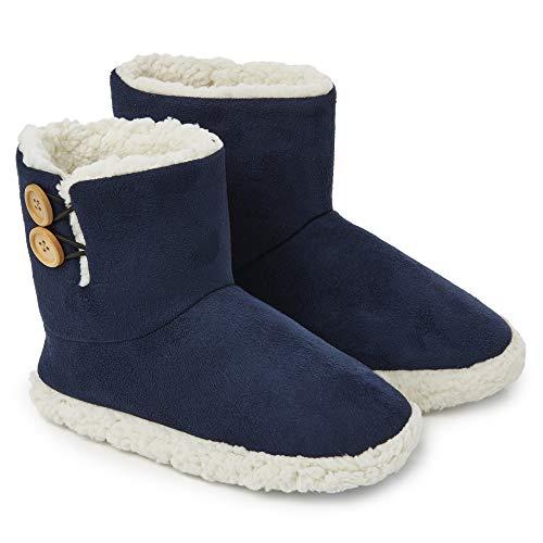 Dunlop Zapatillas Casa Hombre | Zapatillas Altas Calienta Pi