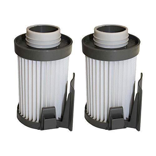Crucial Vacuum Replacement Vacuum Filter Compatible with Eureka Part # 62396-2,62396,62731 & Models DCF10,DCF-10,DCF14,DCF-14,431A,426A,431AX,UK431A,437AXZ,437AZE,437AZ,431BX,431AXZE,431AXZ (2 Pack)