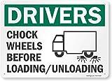 Smartsign By Lyle Wheel Chocks