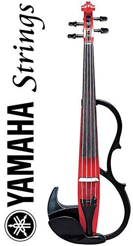 Yamaha SV-200 Silent Violin Performance Model Cardinal Red