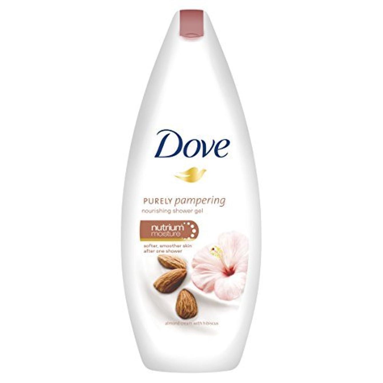 装備するフェッチお風呂Dove Purely Pampering Almond Body Wash - 250 ml by Unilever