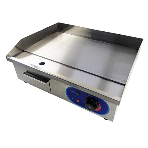 TAIMIKO Electric Griddle Commercial Counter Top Stainless Steel Hot Plate...