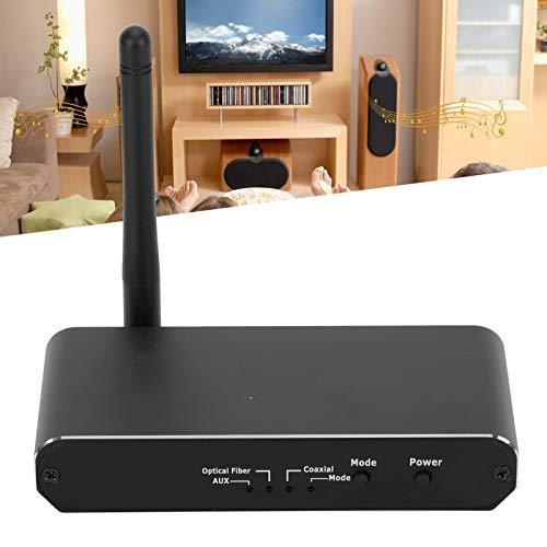 Eosnow Convertidor analógico Digital, transmisor Receptor Bluetooth Fuerte y Resistente, Gratuito para Recibir, ampliamente Utilizado para Reproductores de CD