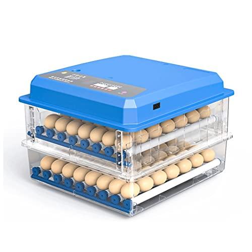 LRBBH Incubadora de Huevos Incubadora automática Huevos de Pollo Incubadora Incubadora Incubadora Completamente AUTOMÁTICO 98 Huevos Polluelo Croil Hatcher (Fuente de alimentación única)