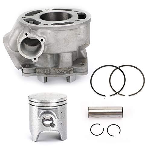Topteng Kit de pistón de cilindro de 56,4 mm para Yamaha DT125 TDR125 TZR125 1991-2006 125