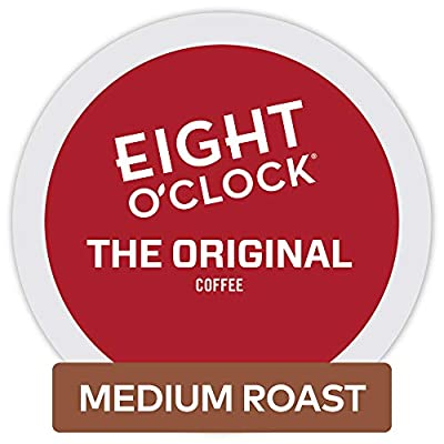 Eight O'Clock Coffee Colombian Peaks, Single-Serve Keurig K-Cup Pods