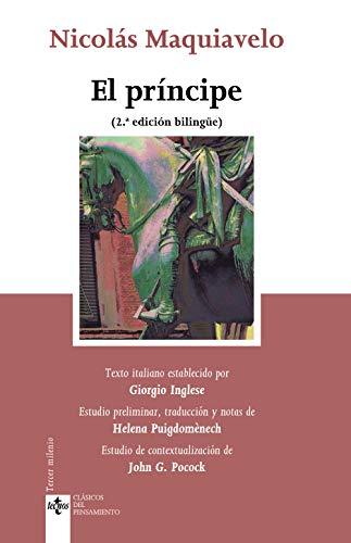 El príncipe: De Principatibus. Edición bilingüe (Clásicos - Clásicos del Pensamiento)