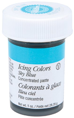 Wilton 610-700 Icing Gel, 1-Ounce, Sky Blue
