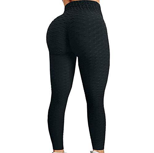Loalirando - Leggings sportivi da donna, a vita alta, per yoga, fitness, palestra, taglia grande...