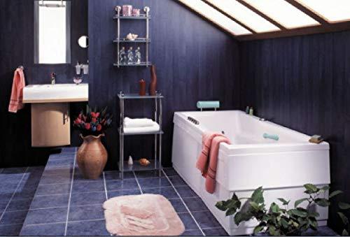 Badewannenverkleidung Rechteckbadewanne - Acrylschürze Trapezbadewanne