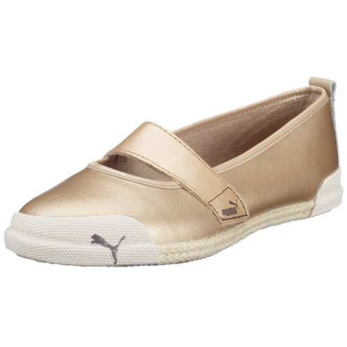 Puma Tia Espi Wn's 344891-03, Damen Ballerinas, beige, (frosted almond beige O3), EU 37, (US 5), (UK 4)