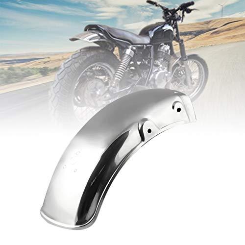 Dogggy Motorrad Metall Kotflügel Hinten Kotflügel Hochleistungs Kotflügel Schutzblech Motorradzubehör Silber