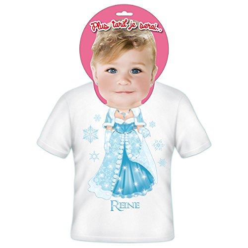 T-Shirt Enfants Plus Tard Je Serais Une Reine 2 ANS