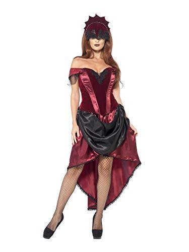 Smiffys Costume Tentatrice Veneziana, comprende Top, Gonna e Copricapo