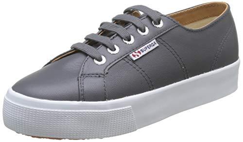 Superga Damen 2730-nappaleau Sneaker, Grau (Grey Stone F28), 39 EU (5.5 UK)