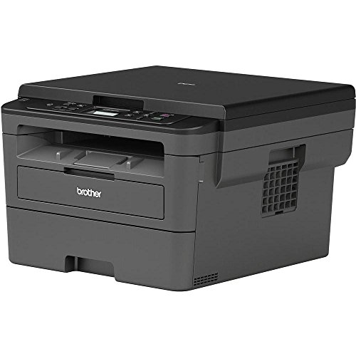 Brother DCP-L2510D Kompaktes 3-in-1 S/W-Multifunktionsgerät (30 Seiten/Min., Drucken, Scannen, Kopieren, A4, echte 1.200x1.200 dpi, Duplexdruck, 250 Blatt Papierkassette, USB 2.0)