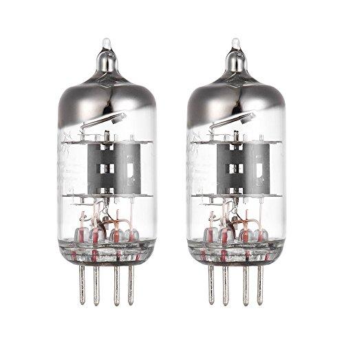 ammoon Vakuumröhren Vacuum Tube Amplifier 5654 6J1 Preamp Elektronenvakuumröhre 7-polig für EF95 6AK5 5654 6J1 403A Audio Verstärkerrohr Ersatz 2 * Vakuumröhre