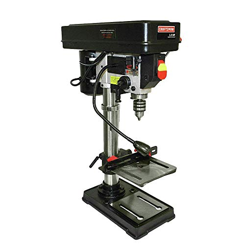 Review Craftsman 934983 10 in. Bench Drill Press with Guiding Laser