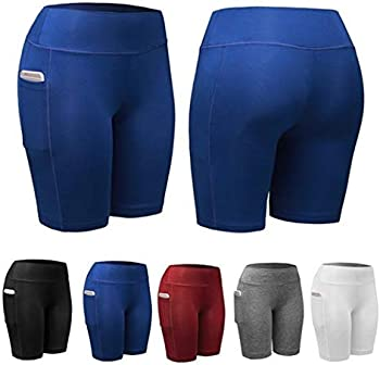 Zippem Women's Sports Fitness Active Shorts with Pocket