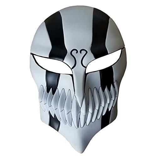 JinYiny Harz Bleach Ichigo Kurosaki Full Hollow Cosplay Halloween Maskerade Anime Death Bleach Maske Kurosaki Cosplay Maske Dekoration Geschenk