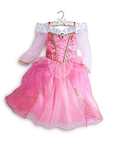 DS Disney Store - Disfraz de niña original Princesa Aurora La Bella durmiente en el bosque, 2 años