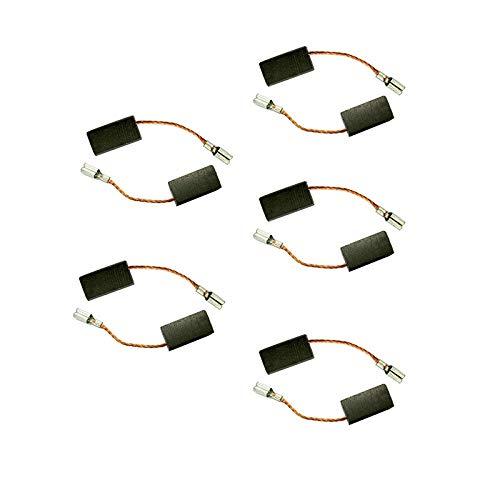 Wnuanjun 5 Pares de cepillos de Carbono 5x8x17.5mm for Electric Motors Bosch Amoladora Angular GWS
