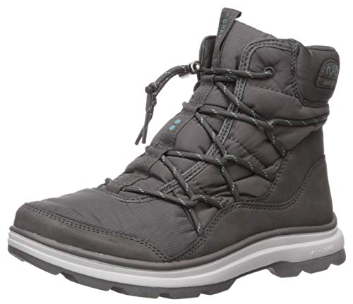 Ryka Women's Brae Ankle Boot, Deep Grey, 7 W US