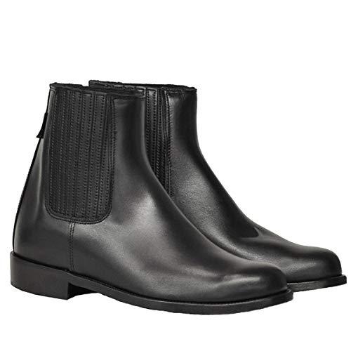 Botas y Botines Piel Negro para Hombre y Mujer Chelsea clásica elástico Valverde del Camino
