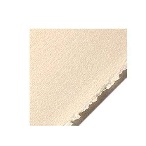 Stonehenge Legion Paper, Cotton Deckle Edge Sheets, 22 X 30 inches, Cream, Pack of 10 (F05-STN250CRH10)