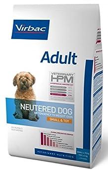 Virbac Veterinary HPM Vet Dog Ad Neutered S & Toy Nourriture pour Chien 7 kg