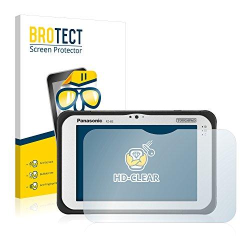 BROTECT Schutzfolie kompatibel mit Panasonic Toughpad FZ-B2 (2 Stück) klare Bildschirmschutz-Folie