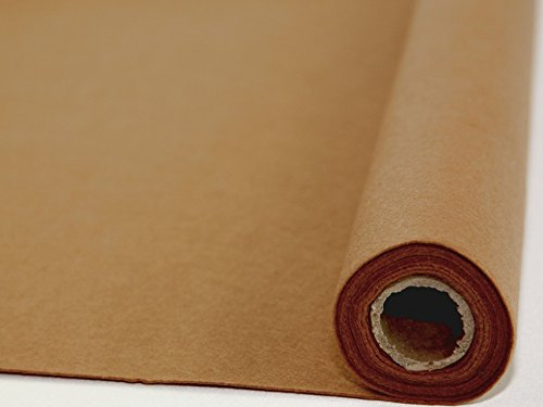 Uni Acryl Filz Stoff Rolle 5m Teddy braun–Pro 5Meter Rolle + Frei Minerva Crafts Craft Guide
