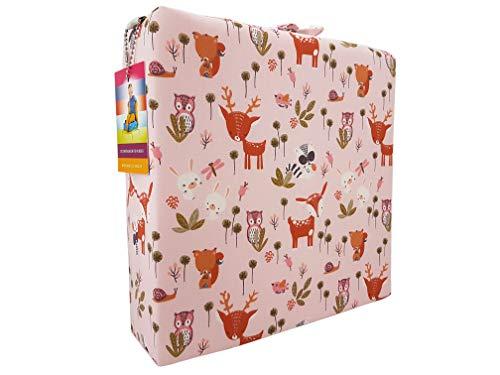barfuss Stuhl Sitzerhöhung für Kleinkinder 8cm Höhe (Bambi)