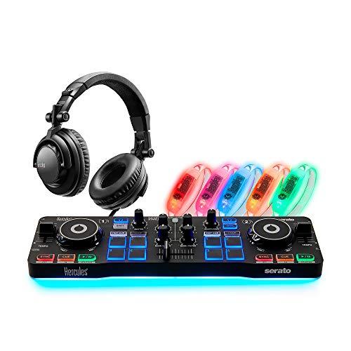 Hercules DJSpeaker 32 Smart: Aktive DJ-Monitor-Bluetooth-Lautsprecher zum Abmischen und Produzieren von Musik. Einfach kabellos Musik hören