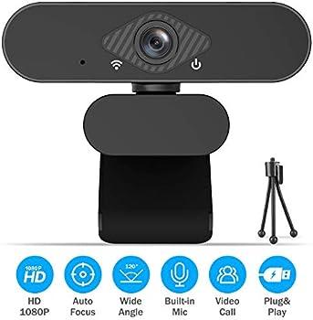 Hokonui 1080P Full HD Streaming Webcam with Mic