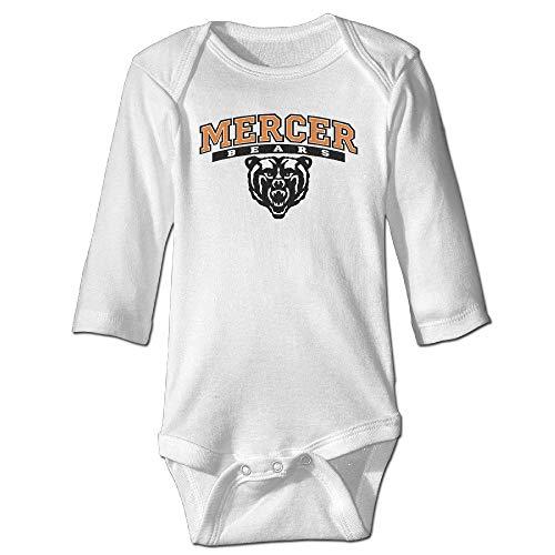SDGSS Babybekleidung Bodysuits Funny Vintage Unisex Mercer University Mascot Baby Costume Baby Boy and Girl
