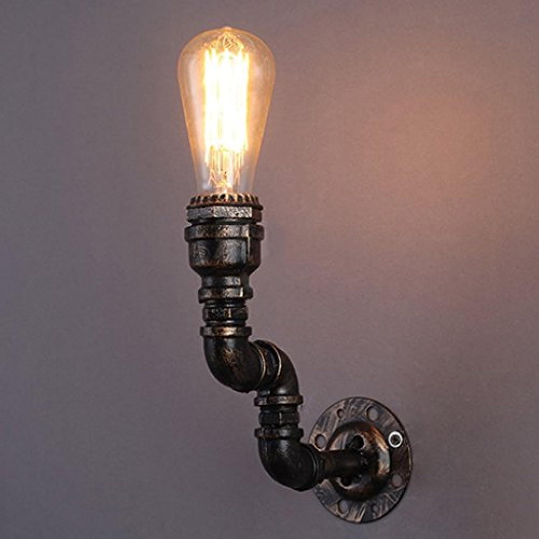 Bügeleisen Nachttischlampe im Europischen Stil Retro Industrial Lights Restaurant Bar Cafe Hotel Wandleuchte E27 (grün Bronze)