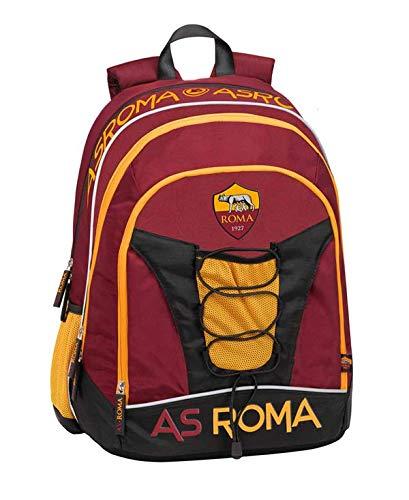 Zaino Scuola ORGANIZZATO 32X43X23 A.S. Roma - Prodotto Ufficiale