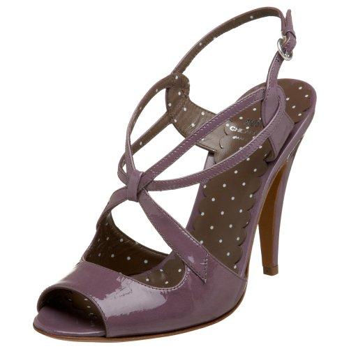 MOSCHINO Cheap and Chic - Sandalias de araña para Mujer, Color Malva, 40.5 EU (US Women's 10.5 M)