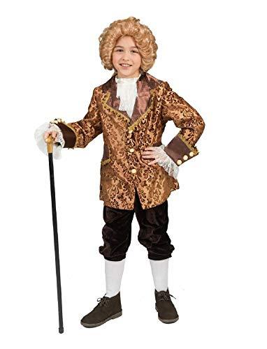 Kostüm Conte Amadeo Kind Junge Größe 164 Rokoko Barock Graf Monsieur Kinderkostüm gold Adel...