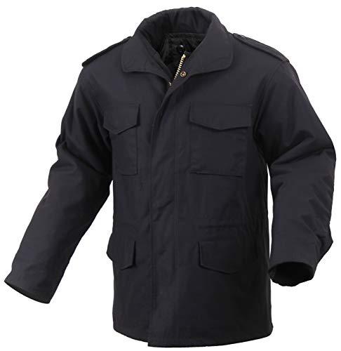 Rothco M-65 Field Jacket, Black/7X