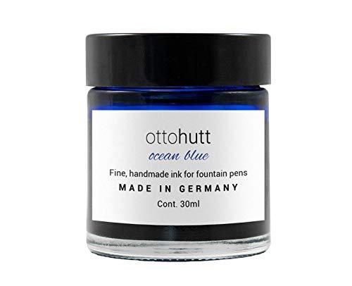 Otto Hutt Tintenglas 30 ml ocean blue