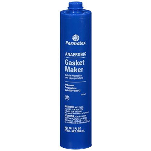 Permatex 51845 Anaerobic Gasket Maker, 300 ml Cartridge
