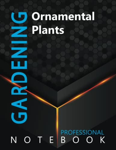 """Compare Textbook Prices for Gardening, Ornamental Plants Ruled Notebook, Professional Notebook, Writing Journal, Daily Notes, Large 8.5"""" x 11"""" size, 108 pages, Glossy cover  ISBN 9798499528334 by Pro Garden  Cre8tive Press"""