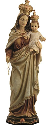 Decocentrum Estatua Virgen con Niño 20cm Resina
