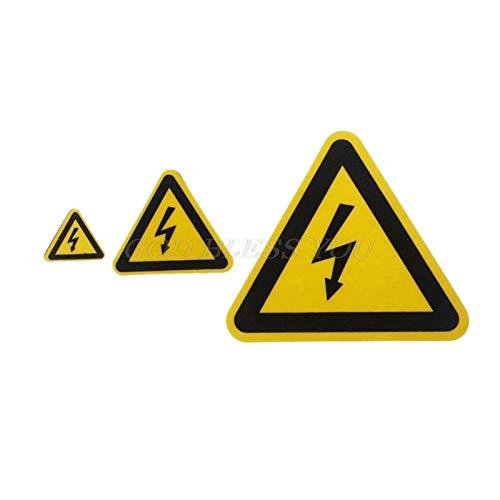 LHFSM Triángulo Amarillo de Alto Voltaje de la Descarga eléctrica de la...