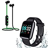 10 YEARS TechKing REPLACEMENT WARRANTY ALL OVER INDIA This smart watch can support most Android phones.You will receive only notification to See Calls & Messages on Your Wrist All-day activity tracking: Track steps, distance, calories burned, active ...